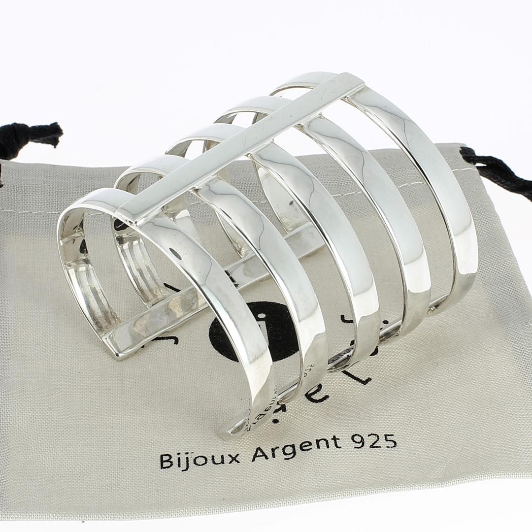 Bracelet argent jalan jalan